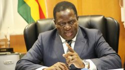 President Emmerson Mnangagwa attends the 12th ZIRS Symposium